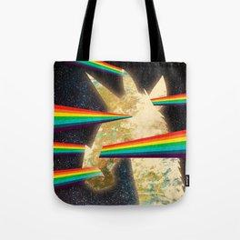 See Hear Smell Taste Rainbows Tote Bag