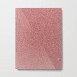 Dense Melange - White and Dark Red Metal Print