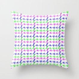 Neverending Love Throw Pillow