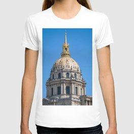 Hotel des Invalides dome in Paris T-shirt