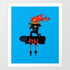 How We See Rockstars! Art Print