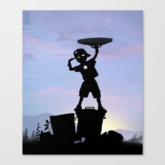 Captain Kid Canvas Print