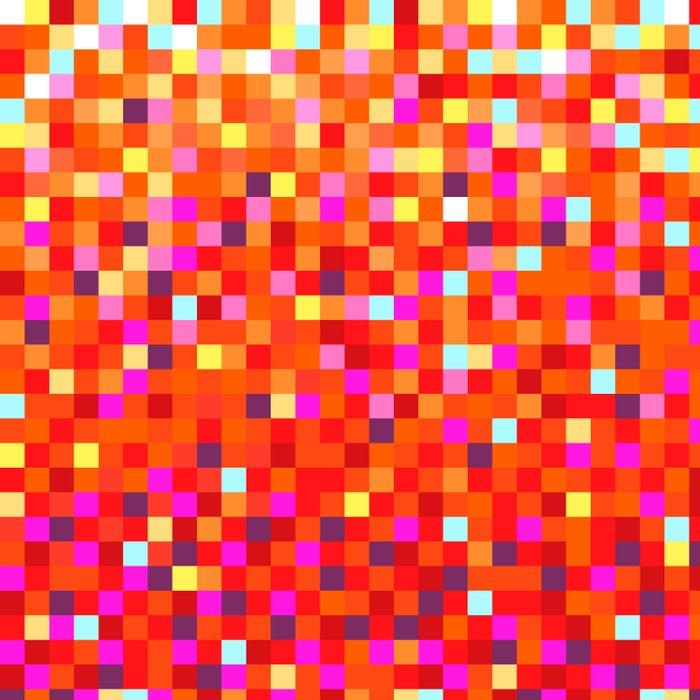 Inferno -- Pixel Art by KCS Duvet Cover