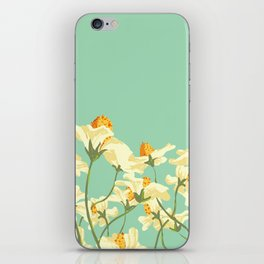 Floral Woes iPhone Skin