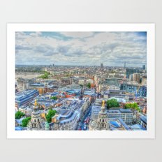 London Bridge Art Print