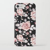 shabby chic iPhone & iPod Cases featuring Shabby Chic Rose by Madisyn Nicole
