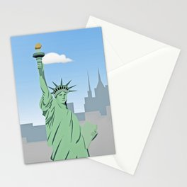 """""""Statue of Liberty """" NYC Stationery Cards"""