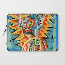 """Child"" street art brut expressionist digital painting Laptop Sleeve"