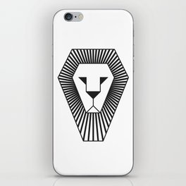 animal PICTOGRAMS vol. 5 - LIONS iPhone Skin