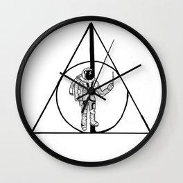 Deathly Hollows Astronaut Wall Clock