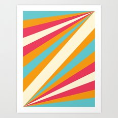 Diagulous Series: Sunnyside Art Print