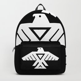 Thunderbird flag - HQ file Inverse version Backpack