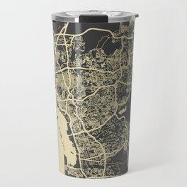 San Diego Map Travel Mug