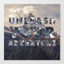 Unleash Your Adventure Canvas Print
