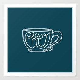 Cup of Cheer Art Print
