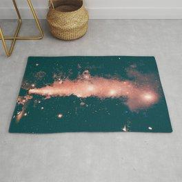FIREWORKS - NIGHT - STARS - PHOTOGRAPHY Rug