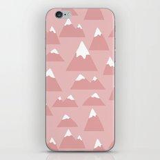 Mountain pattern iPhone & iPod Skin