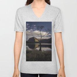 Lone Tree, Buttermere Unisex V-Neck