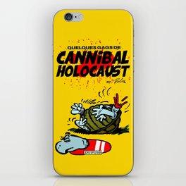 CANNIBAL HOLOCAUST BOULE ET BILL iPhone Skin