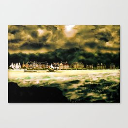 Millport Shore-Front, Isle of Cumbrae, West Coast of Scotland [4] Canvas Print