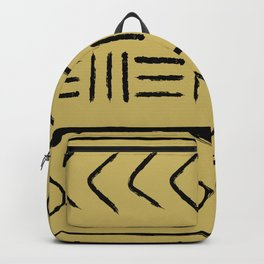Mudcloth pillow version light Backpack