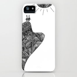 Creatures of the Mountain iPhone Case