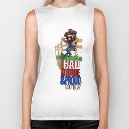 Bad Attitude Cowboy Biker Tank