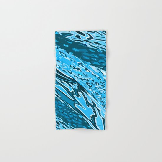 Water Skinning Hand & Bath Towel