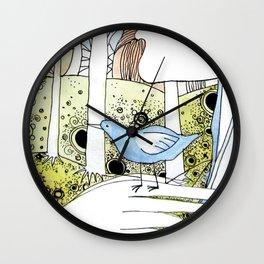 Spring-love-bird-arms-sheandhim Wall Clock