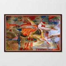 Mechancial Nature Canvas Print