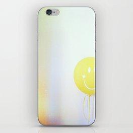 yellow ballon iPhone Skin