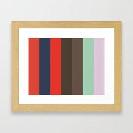 VIRTUAL Abstract Pattern Framed Art Print