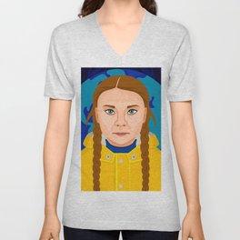 Greta Thunberg Unisex V-Neck
