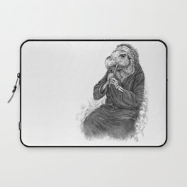 Vulture playing tin whistle Laptop Sleeve