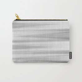 Black and White Stripes Abstract Carry-All Pouch