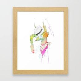 Rock the Floral Framed Art Print