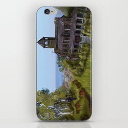Mansion by the Coast iPhone Skin