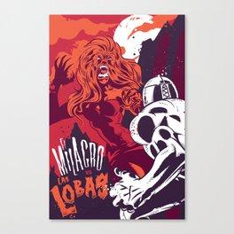El Milagro VS Las Lobas Canvas Print