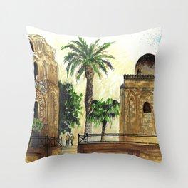Palmes Throw Pillow