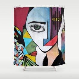 Five Senses Shower Curtain