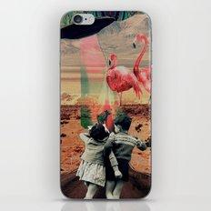 Pink Flamingos iPhone & iPod Skin