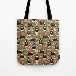 Shiba Inu black and tan fur coat dog breed must have cute gifts for shiba inu owners pet portraits Tote Bag