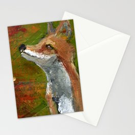 Wisdom of the Fox Stationery Cards
