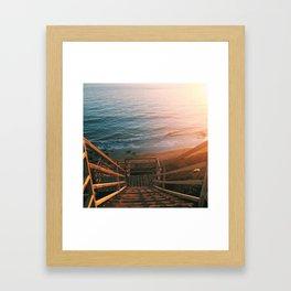 El Matador State Beach Framed Art Print