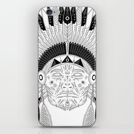 Snapped Up Market - Cowboys & Indians iPhone Skin