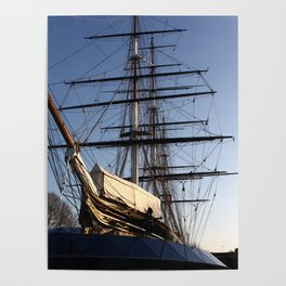The Cutty Sark Clipper Poster