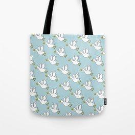 Flying Duck Tote Bag