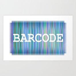 Barcode Art Print