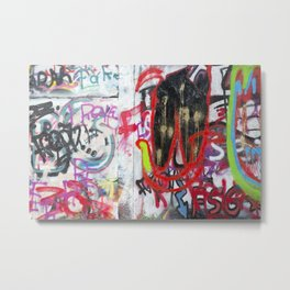 Colorful Graffiti Metal Print