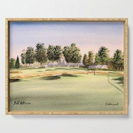Oakmont Golf Course Serving Tray